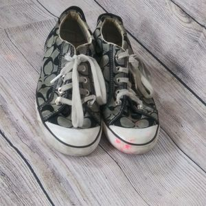Used Used Used Woman Coach sneakers